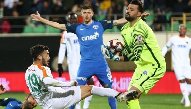 Alanyaspor 0-0 Kasımpaşa maç özeti izle (Ozan Tufan geri döndü)
