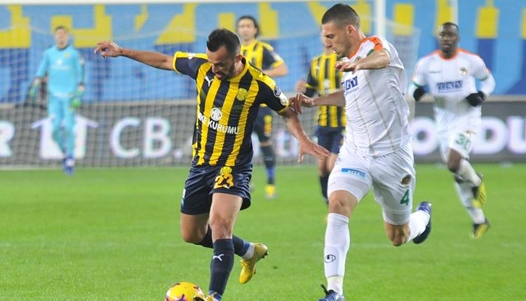 Ankaragücü 0-2 Aytemiz Alanyaspor maç özeti ve golleri izle