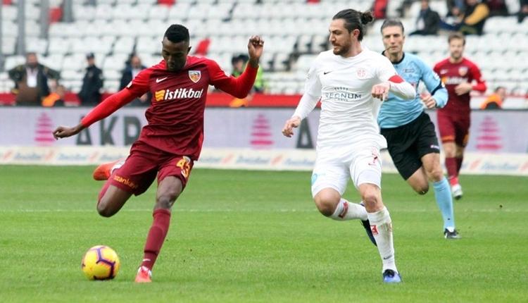 Antalyaspor 0-0 Kayserispor maç özeti izle