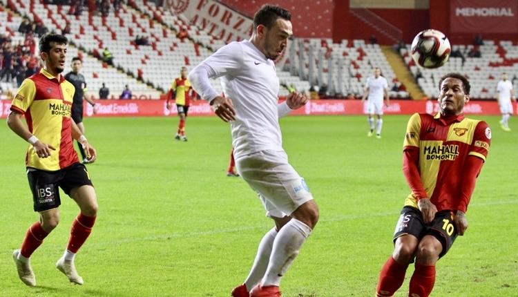 Antalyaspor 3-3 Göztepe maç özeti ve golleri izle
