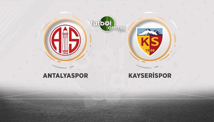 Antalyaspor - Kayserispor canlı izle (Antalya Kayseri beIN Sports canlı)