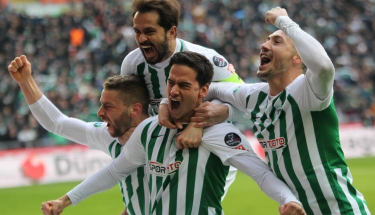 Atiker Konyaspor 2-0 Antalyaspor maç özeti ve golleri (İZLE)