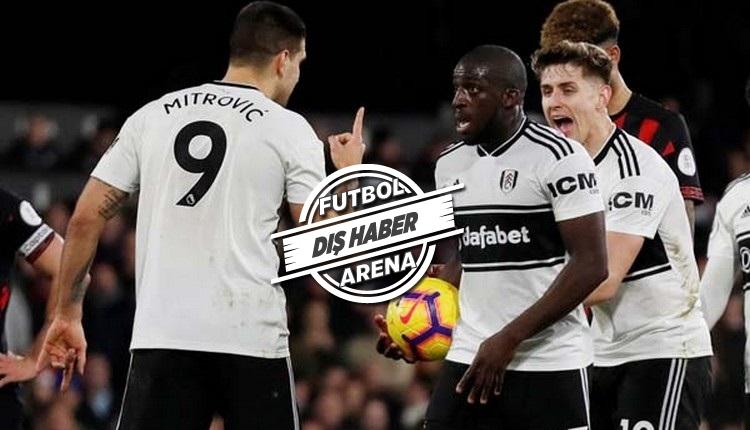 Babel'in yeni takımı Fulham'da yumruklu kavga
