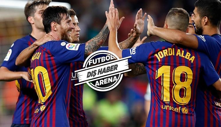 Barcelona tarihe geçti! Dünyada böyle kulüp yok