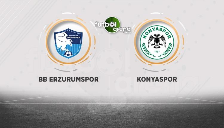 BB Erzurumspor - Atiker Konyaspor canlı izle (Erzurum Konya beIN Sports canlı)