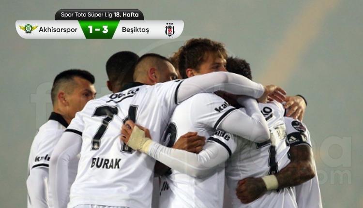 Beşiktaş, Akhisarspor deplasmanından zaferle döndü