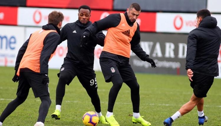 Beşiktaş'ta Burak Yılmaz ve Mirin ilk 11'e girdi