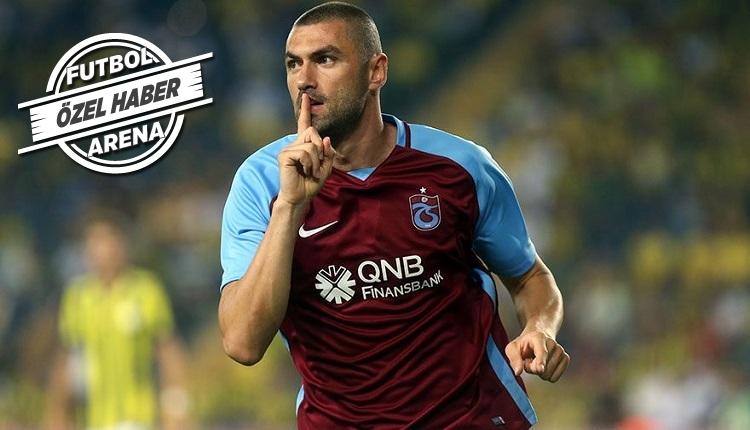 Burak Yılmaz Trabzonspor'daki alacaklarından vazgeçmedi