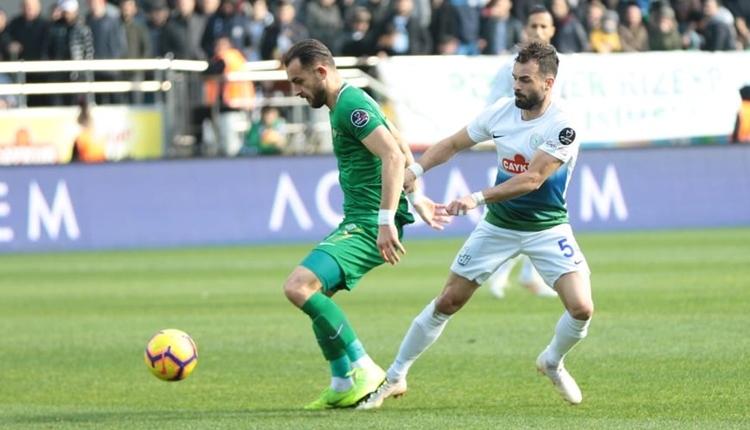 Çaykur Rizespor 3-1 Akhisarspor maç özeti ve golleri izle
