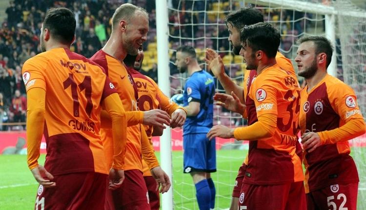 Galatasaray 4-1 Boluspor maçı özeti ve golleri (İZLE)