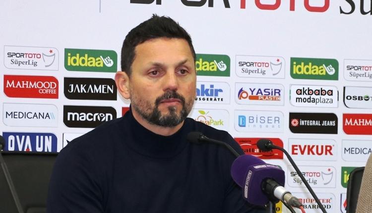 Erol Bulut: 'Yeni Malatyaspor'a 4 transfer lazım'