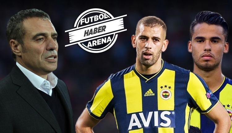 Ersun Yanal canlı yayında Reyes ve Slimani transferlerini açıkladı