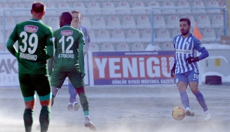 Erzurumspor 1-2 Atiker Konyaspor maç özeti ve golleri (İZLE)