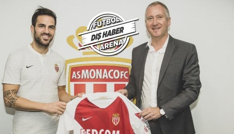 Fabregas, Monaco'ya transfer oldu! İlk açıklamaları