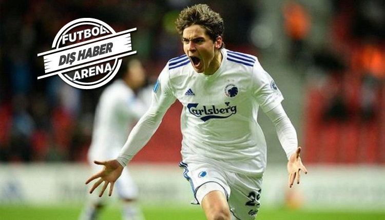 Fenerbahçe Danimarka'nın en golcüsü Robert Skov'un peşinde