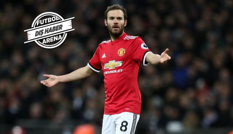 Fenerbahçe ile anılan Juan Mata için Manchester United'ın kararı