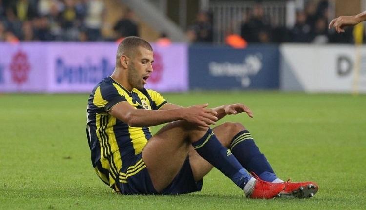 Fenerbahçe'de Slimani krizi