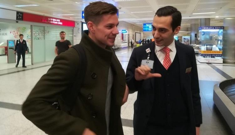 Fenerbahçe'nin transferi Miha Zajc, İstanbul'a geldi