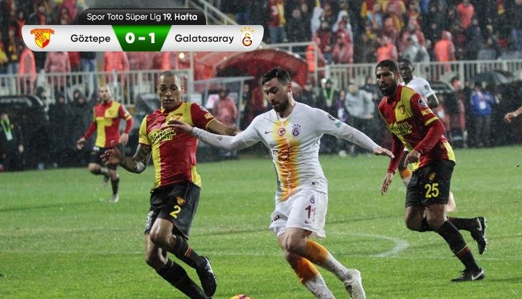 Galatasaray, Göztepe deplasmanından galip döndü! (İZLE)
