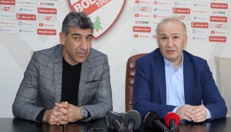 Galatasaray maçı öncesi Boluspor'da Sait Karafırtınalar istifa etti