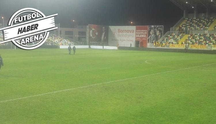 Galatasaray'a İzmir'de saha zemini sürprizi