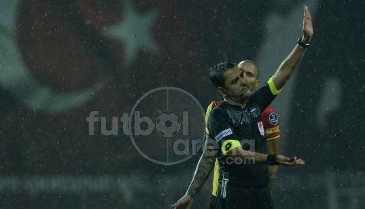 Göztepe Galatasaray maçına damga vuran penaltı pozisyonu! VAR devreye girdi