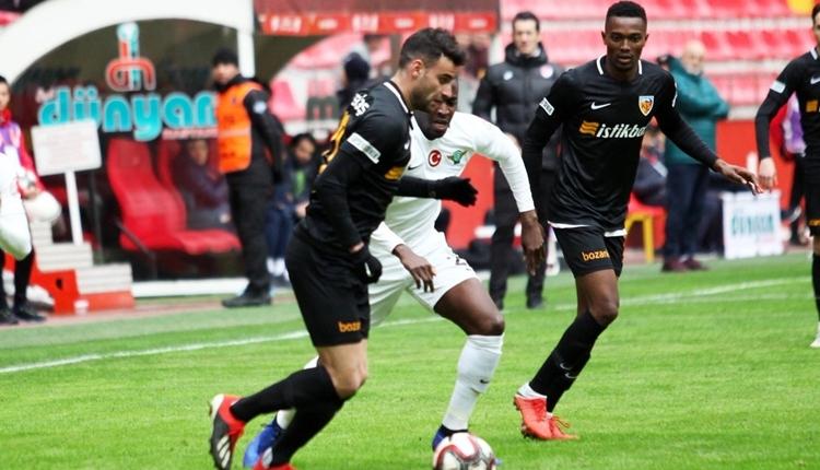 Kayserispor 1-2 Akhisarspor maç özeti ve golleri izle