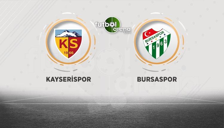 Kayserispor - Bursaspor canlı izle (BeIN Sports canlı izle)