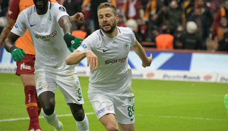 Konyaspor Nejc Skubic ve Deni Milosevic ile sözleşme yeniledi