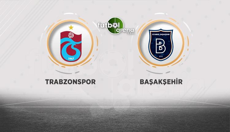 Lider Medipol Başakşehir, Trabzonspor deplasmanına konuk oluyor