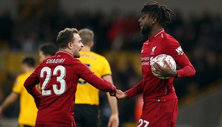 Liverpool FA Cup'tan elendi! Wolverhampton 2-1 Liverpool maç özeti ve golleri
