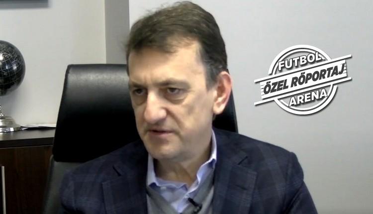 Metin Albayrak, FutbolArena'ya konuştu: ''100 bin futbolcu analiz ettik''