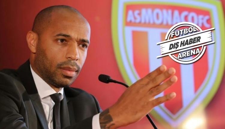 Monaco Thierry Henry'nin görevini askıya aldı