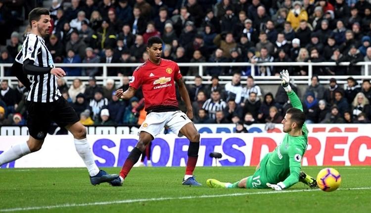 Newcastle United 0-2 Manchester United maç özeti ve golleri izle