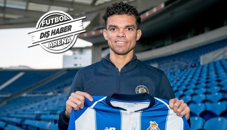 Porto'ya dönen Pepe'den ilk açıklama
