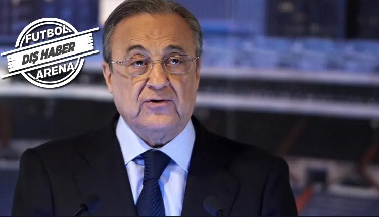 Real Madrid Başkanı Florentino Perez'den Federasyona tehdit!