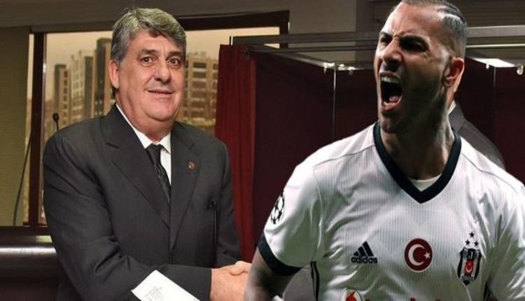 Ricardo Quaresma, Beşiktaş'ta kalacak mı? Serdal Adalı görüştü