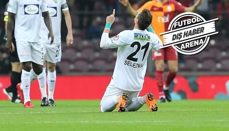 Seleznyov'dan sitem: 'Beni Galatasaray'a göndermek yerine...'