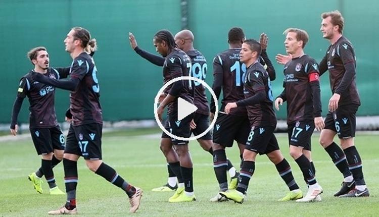 Trabzonspor 3-1 ADO Den Haag hazırlık maçı özeti ve golleri izle