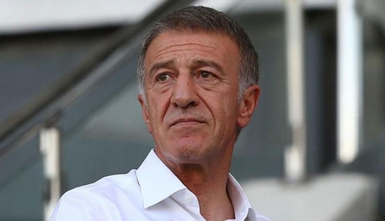Trabzonspor'da Ahmet Ağaoğlu hastaneye kaldırıldı