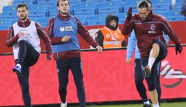 Trabzonspor'un Balıkesirspor maçında altyapıdan 14 futbolcu