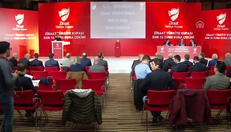 Türkiye Kupası çeyrek final kura çekimi ne zaman, saat kaçta, hangi kanalda?
