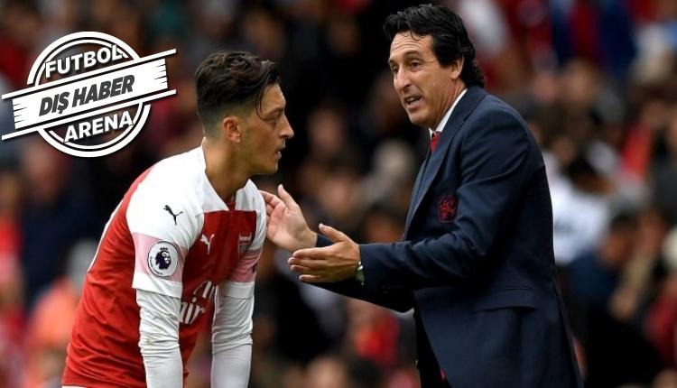 Unai Emery: ''Mesut Özil'in ayrılacağını düşünmüyorum'''