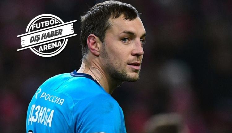 Zenit'te Dzyuba'dan Fenerbahçe sözleri: 'Onlar en iyileri'
