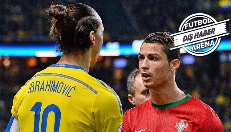 Zlatan Ibrahimovic'den Ronaldo'ya: 'Söyledikleri tam bir saçmalık'