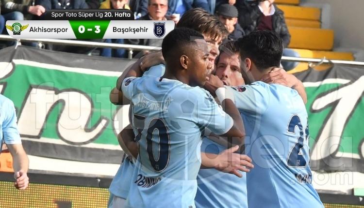 Akhisarspor 0-3 Medipol Başakşehir maç özeti ve golleri (İZLE)