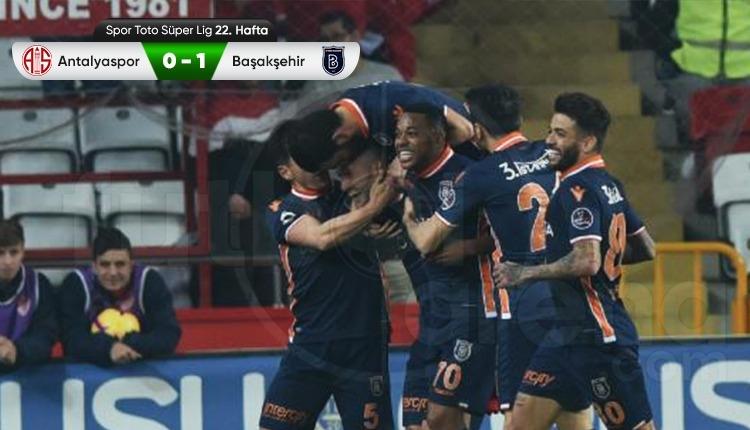 Antalyaspor 0-1 Başakşehir maç özeti ve golü (İZLE)