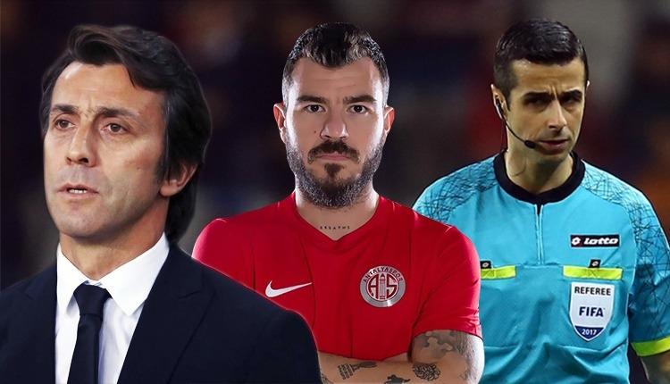 Antalyaspor'dan Mete Kalkavan tepkisi! Yekta ve Bülent Korkmaz