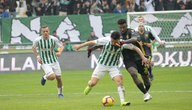 Atiker Konyaspor 1-1 Yeni Malatyaspor maç özeti izle