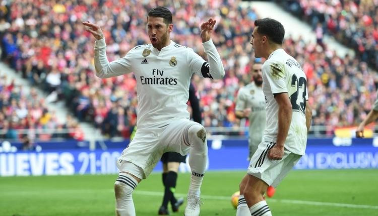 Atletico Madrid 1-3 Real Madrid maç özeti ve golleri (İZLE)